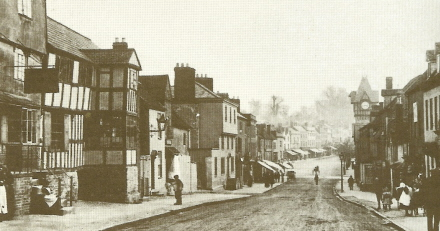 The Homend circa 1896 on Ledbury Portal